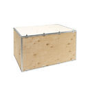 Double Wall - 5 Ply Light Weight S Type Nailless Box, Box Capacity: 201-400 Kg