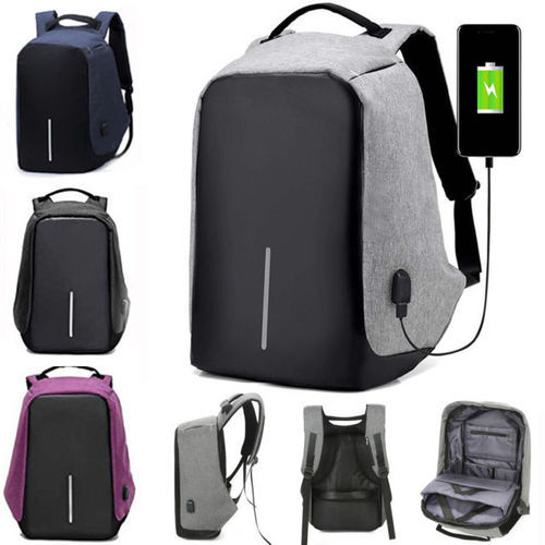 6cf762a9be54 Anti theft Backpack Waterproof Business Laptop Bag with USB Charging Port  for 14 Inch Laptop.