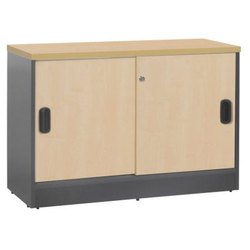 Fonzel Wooden Side Cabinet with Base