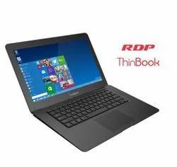 RDP Black I3 Mini Laptop RDP Thinbook, 2 Gb, Hard Drive Size: 500GB to 1TB