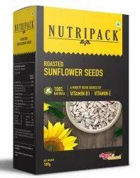 Nutripack Roasted Sunflower Seeds, Packaging Size: 100 Grams