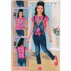 Casual Wear Kids Denim Jean