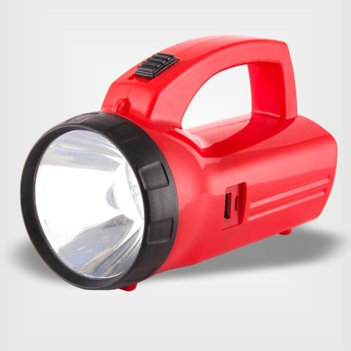 Rising White Humrahi Power High Power Torch, Battery Type: Lithium Ion