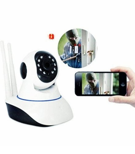 WiFi IP Wireless Rotating Smart Net Camera With Box Packing HE-874