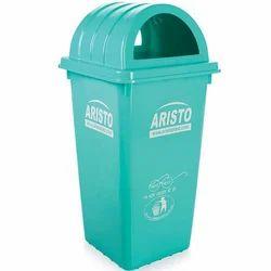 80L Plastic Garbage Bin