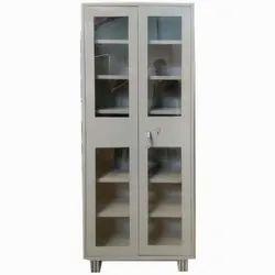 Double Door Mild Steel Library Room Cupboard