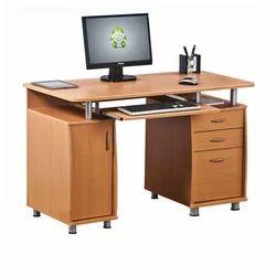 Maruthi Enterprises Brown Wooden Computer Table