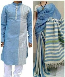 Khesh Saree and kurta combo