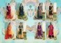 Poshak Vol-2 Kessi Jam Silk With Diamond Work And Rayon Palazzo Suits With Dupatta