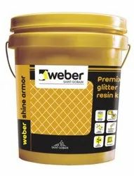 Weber Ceramic Saint Gobain Gold Glitter Epoxy Grout for Tile & Stone Joints