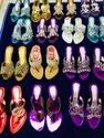 Dot Exports Heels Ladies Ethnic Indian Sandals, For Footwear
