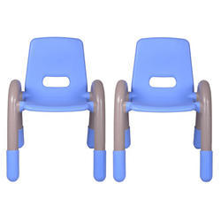 Blue Pair Volver Engineering Plastic Kids Chair (VJ-0233)