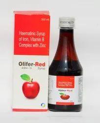 Haematinic Syrup Of Iron Pyridoxine , Niacinamide , Cynocobalamine & Zinc Sulphate