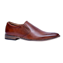 Vithariya Leather Men Brown Formal Shoes, Size: 6-10