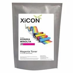 XICON Konika Magenta 350g Color Single Toner for Konika Minolta Magenta Toner 350g