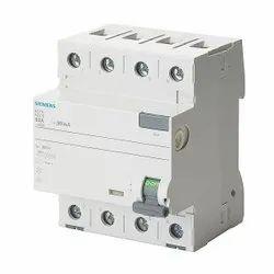 Siemens 40A Four Pole RCCB