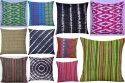 Self Design Cotton Kantha Cushion Cover