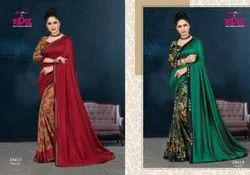Vipul Fashions Belleza Fancy Half Half Saree