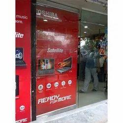Digital Printing PVC Inshop Branding Services, Usage: Indoor & Outdoor