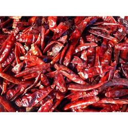 Dried Long Red Chillies