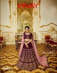 Wedding Silk Lehenga
