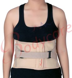 Lumbo Sacral Spinal Support Premium-Beige/Grey