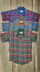 GoldenFiber Cotton Kids Check Shirts