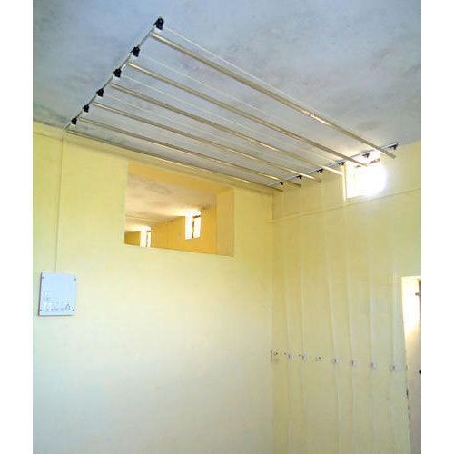 6 Pole Ceiling Mounted Clothes Hanger At Rs 5000 Piece