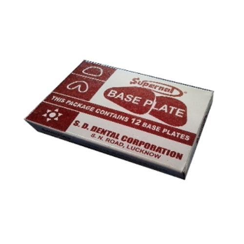 Dental Shellac Base Plate (Pack of 10)