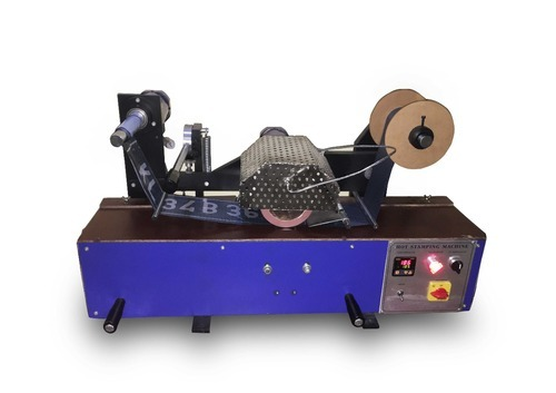 Semi-Automatic Number Plate Hot Stamping Machine, Rs 100000 /piece ...