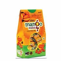 Allice Rectangular Toffee Mango Malai Hut Shape Gift Pack