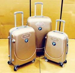 Golden Color ABS Trolley Bag, Model No.: abs01