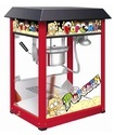 Red Bar Style 8 Ounce Antique Popcorn Machine