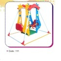Giraffe Double Swing with Basket Ball (111)