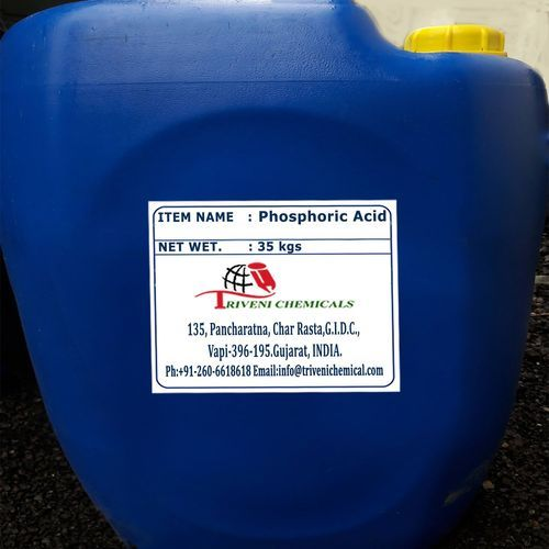 Liquid Phosphoric Acid, Packaging Type: Drum | ID: 1712735055