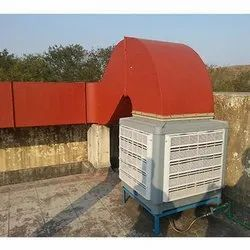 Commercial Air Cooling Duct System