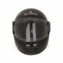 Plastic Black Aeroplus Full Face Helmet