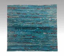 SGE Handwoven Sari Silk Rug, Shape: Rectangular