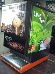 Live South Indian Filter Coffee Vending Machine Distribut