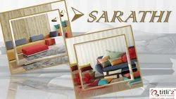 Plain Cotton Blend Sarathi Fabrics, Packaging Type: Roll