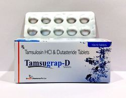 Tamsulosin 0.4 mg Dutasteride 0.5 mg Tablets