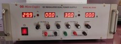 DC Regulated Dual Channel Power Supply, ML 3010D