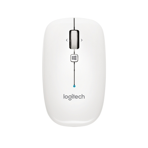Logitech Bluetooth Mouse M557 Mouse With White Color