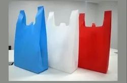 HDPE W Cut Non-Woven Grocery Bag, Capacity: 5 kg