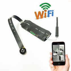 Mini Wireless Hidden Camera WIFI IP Pinhole DIY P2P Video Camera