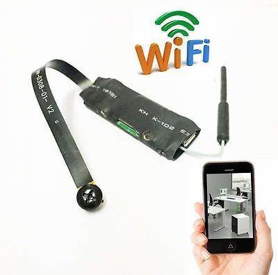 Mini Wireless Hidden Camera Wifi Ip Pinhole Diy P2p Video Camera