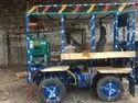 Gear Box Four Wheeler Sugarcane Crusher Machine Set