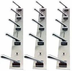 Round Door Hooks, Stainless Steel