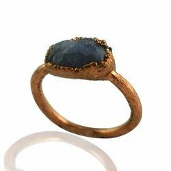 Raw Tanzanite Stone Rings