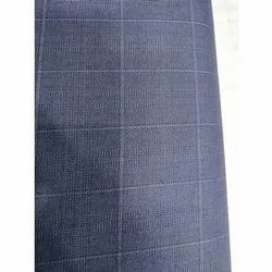 Check Polyster Viscose Suiting Fabric, For Textile Industry